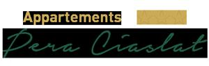Appartamenti Pera Ciaslat Logo